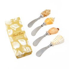 The Garret Seashell Spreader in gift box