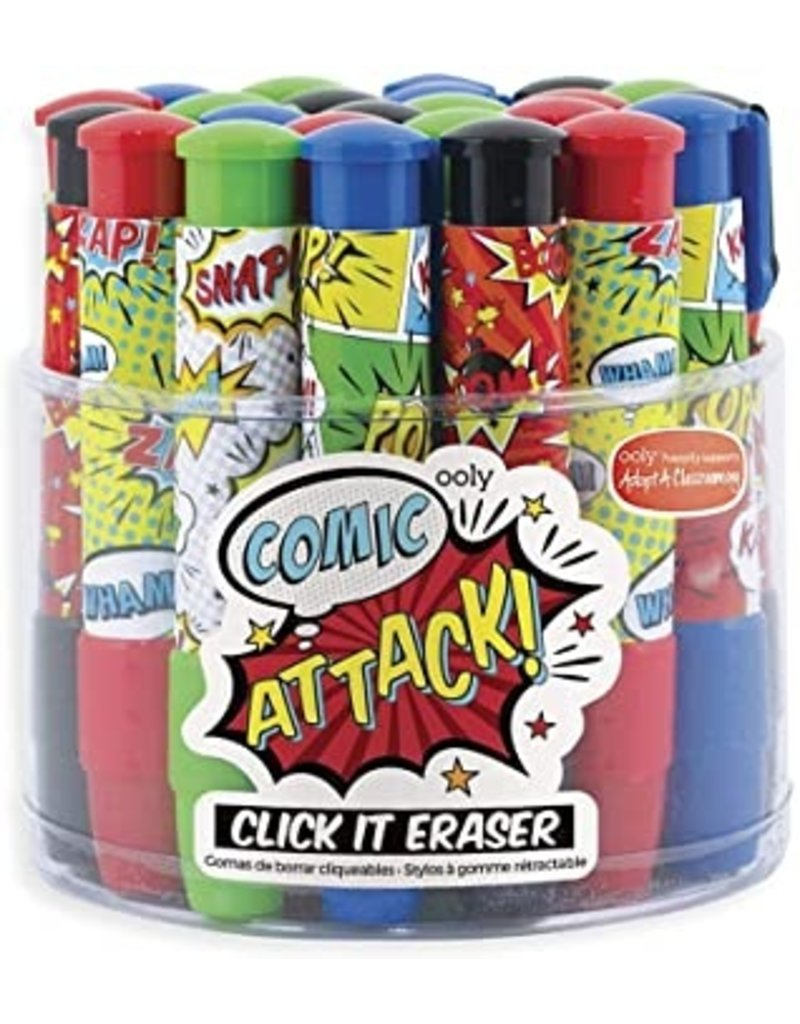 ooly Click It Erasers