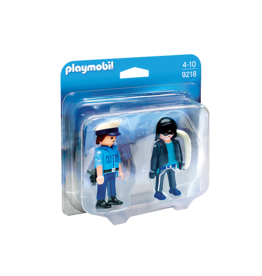 Playmobil Policeman and Burglar