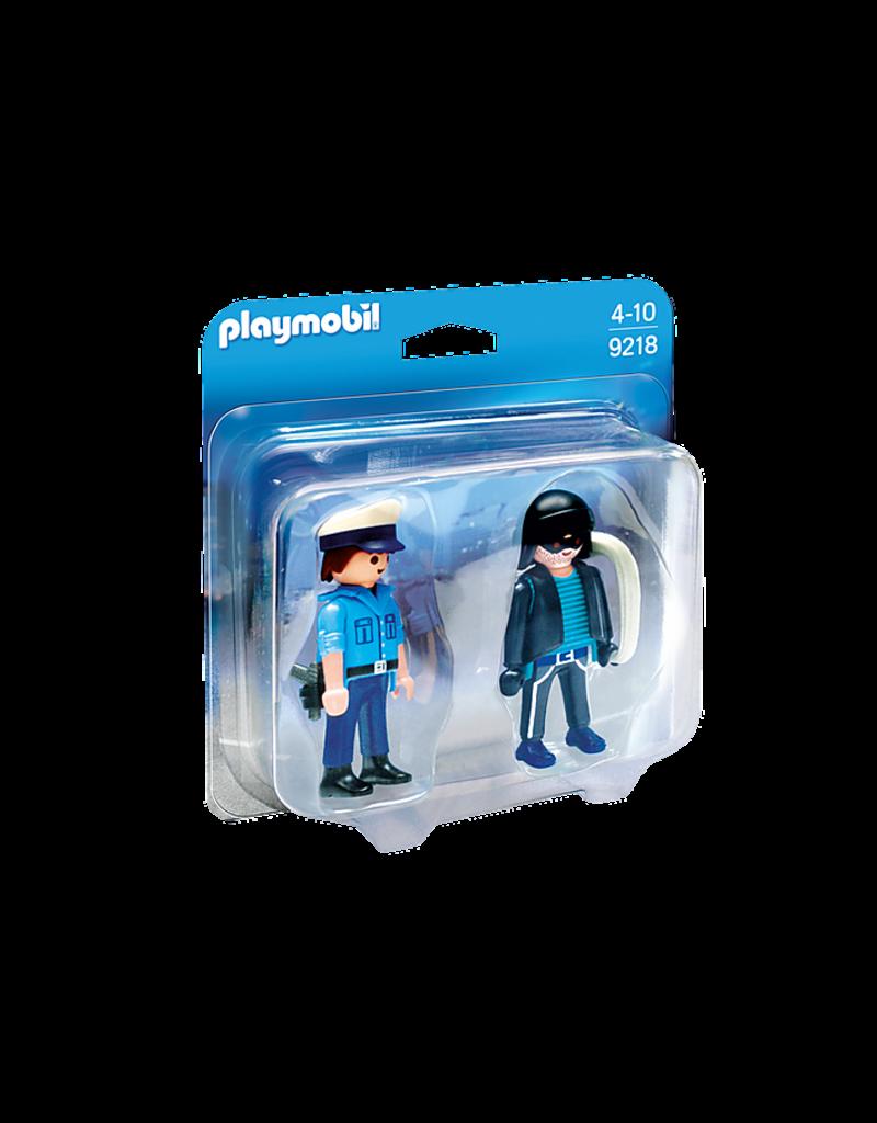 Playmobil Policeman and Burglar