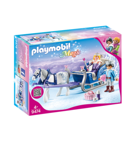 Playmobil Sleigh w/ Royal Couple