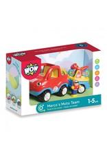 WOW Toys WOW Marco's Moto Team