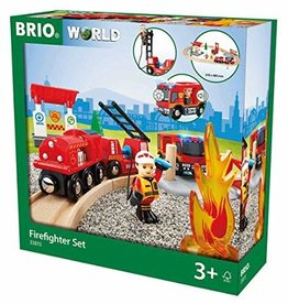 Brio Brio Rescue Firefighter Set