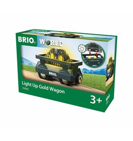 Brio Brio Light Up Gold Wagon 3+