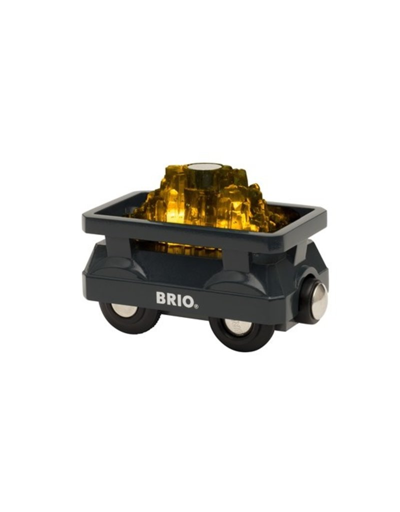 Brio Brio Light Up Gold Wagon 3+