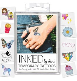 INKED by Dani INKED Temporary Tattoos