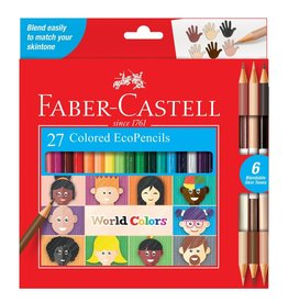 Faber-Castell World Colors - 27ct EcoPencils 3+