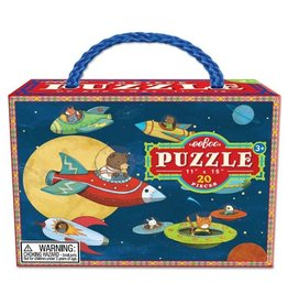 eeBoo Up and Away 20pc Puzzle