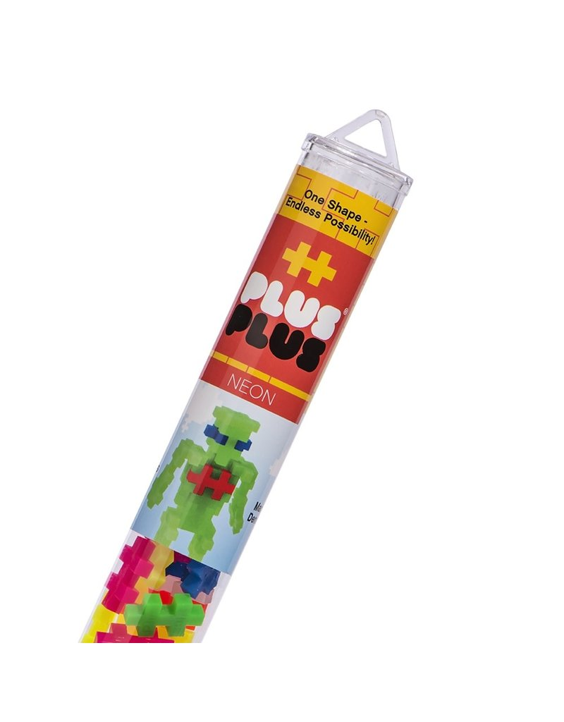 Plus Plus Plus Plus Tubes - Colors 70 pcs