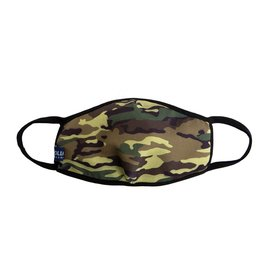 Urban X Apparel Face Mask Urbanx Adult Green Army Camo