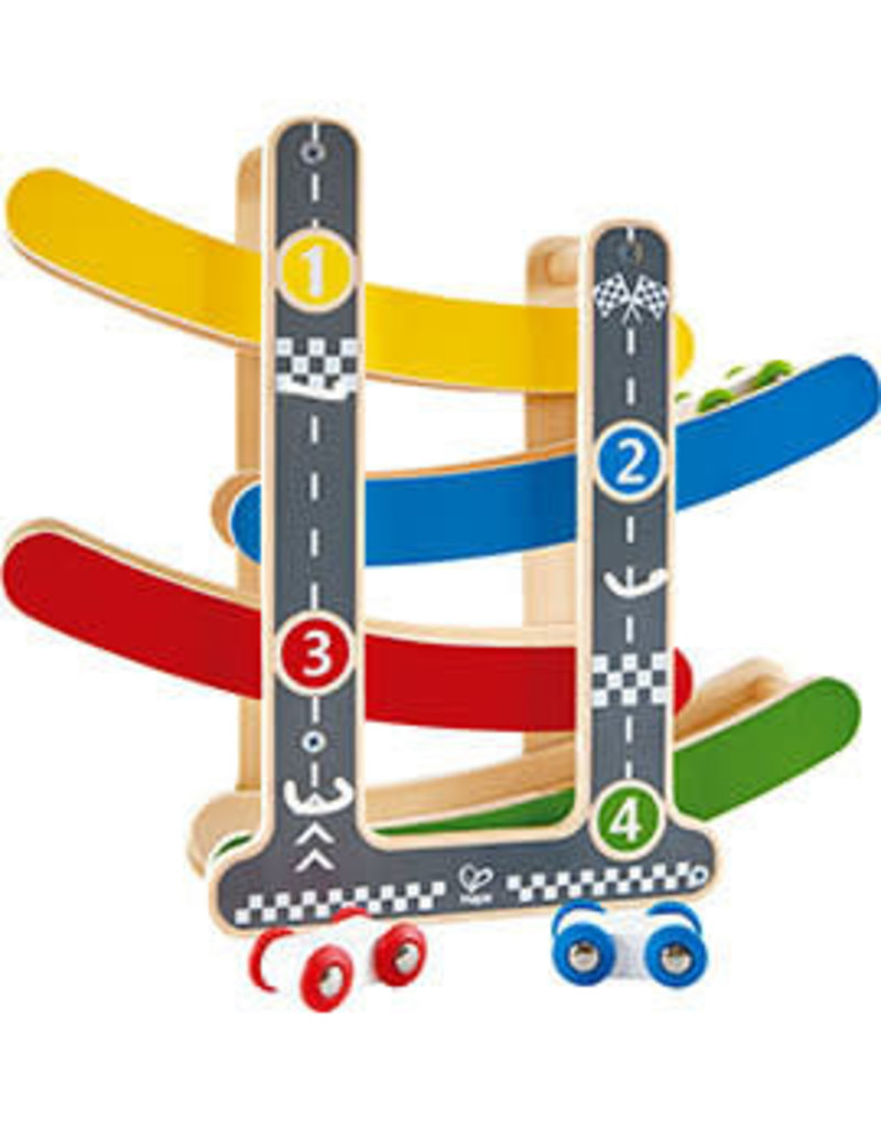 Hape Fast Flip Racetrack 18m+