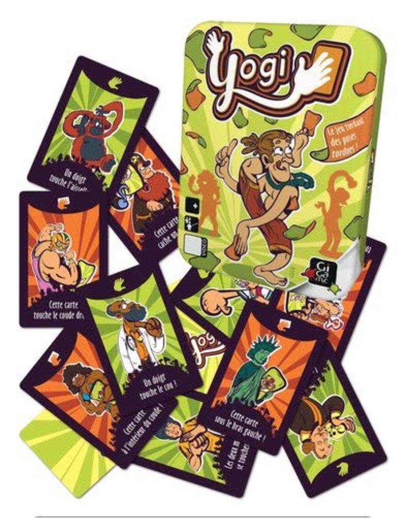Yogi Party Card Game