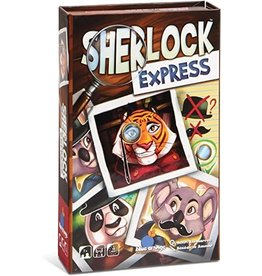 Blue Orange Games Sherlock Express