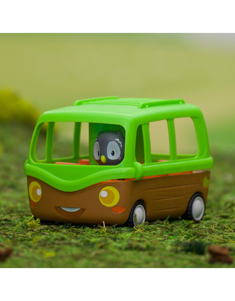 Fat Brain Toys Timber Tots Adventure Bus 2+
