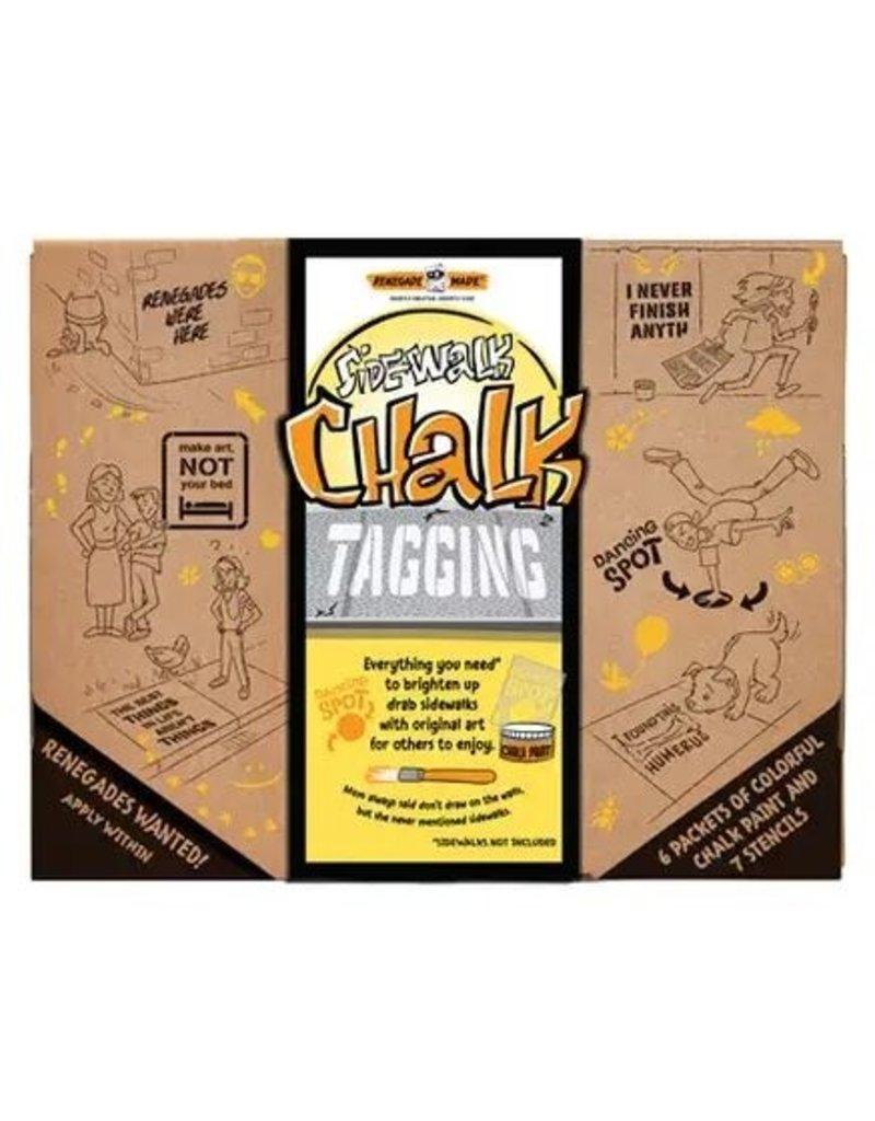 Renegade Made Sidewalk Chalk Tagging Kit