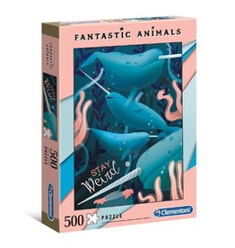 Clementoni Fantastic Animals - Narwhal 500 pieces