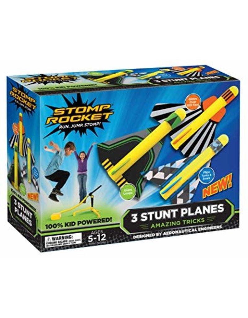 Stomp Rocket Stomp Rocket Stunt Planes 3 planes 5-12 yrs
