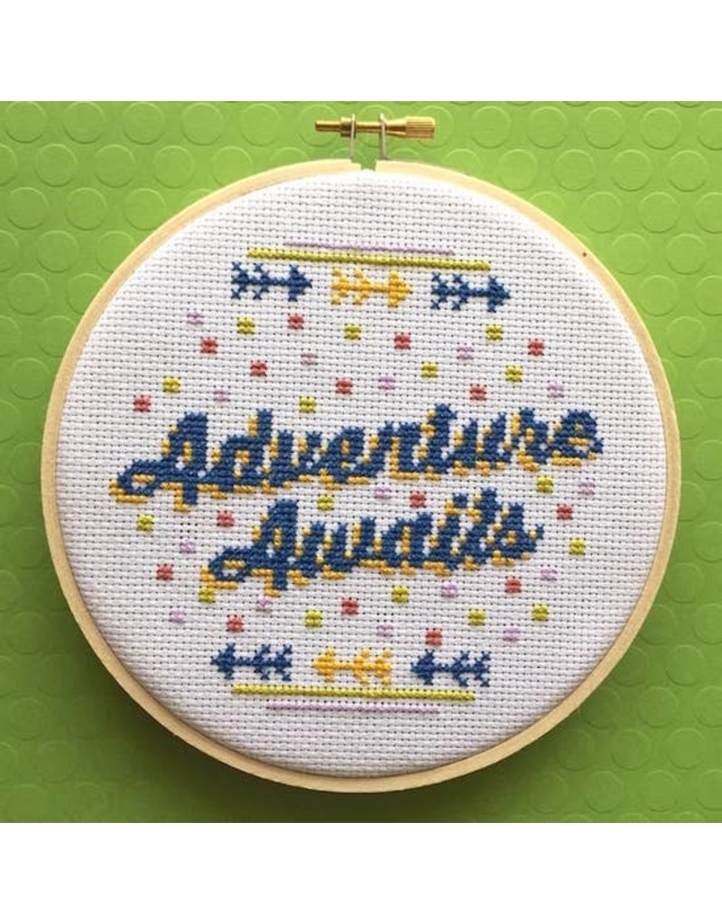 Adventure Awaits Cross Stitch Kit