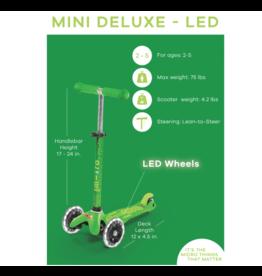 Micro Kickboard Micro Mini Deluxe Scooter LED 2+