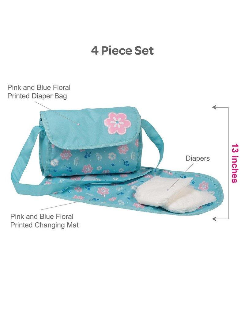 Adora Dolls Diaper Baby - Flower Power