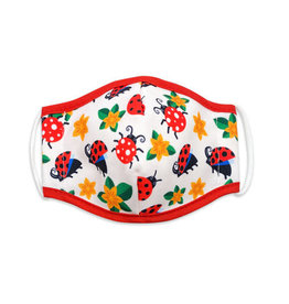 Woven Pear Face Mask Woven Pear Child 6+  Lady Bugs