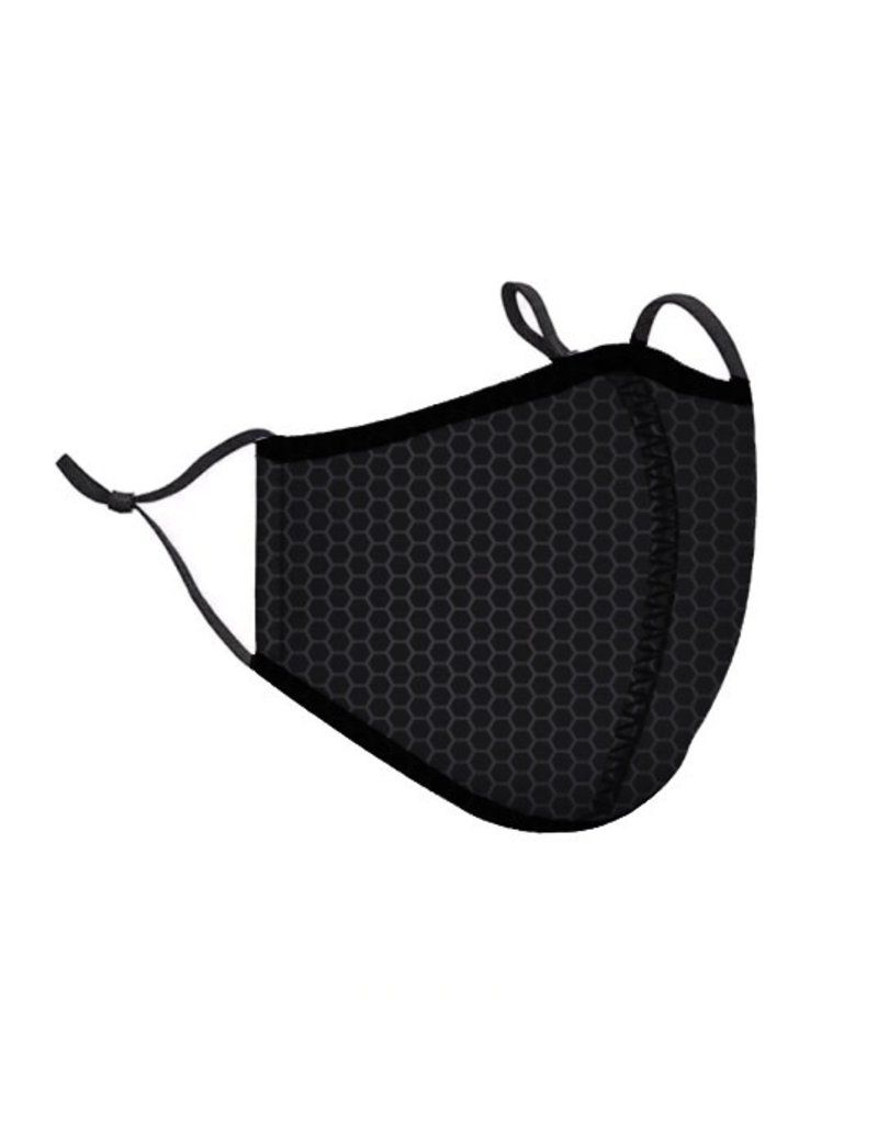 Top Trenz Face Mask Top Trenz Black Carbon
