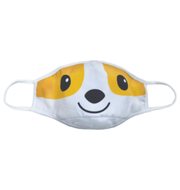 iscream Face Mask iscream Child 6+ Reversible Corgi