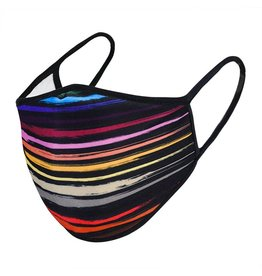 Urban X Apparel Face Mask Urbanx Adult Rainbow Stripe