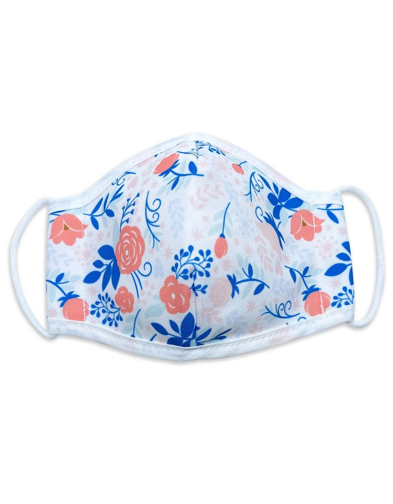 Woven Pear Face Mask Woven Pear Child 6+  Coral