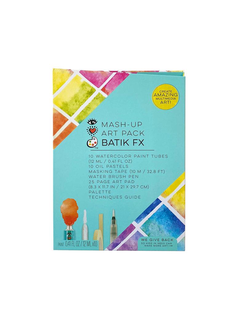 Bright Stripes iHeartArt Mash-Up Art Pack Batik FX