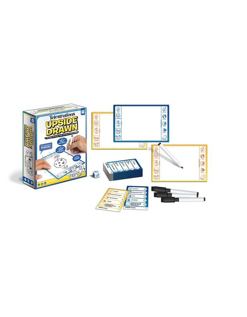 USAopoly Telestrations Upside Drawn 12+