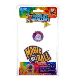 Super Impulse World's Smallest Magic 8 Ball Tie-Dye
