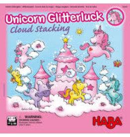 HABA Unicorn Glitterluck - Cloud Stacking 4+