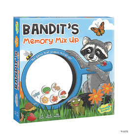 Peaceable Kingdom Bandit's Memory Mix Up Game 3+