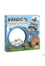 Peaceable Kingdom Bandit's Memory Mix Up Game 3+
