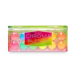 ooly Chroma Blends Watercolor Paints Neon 6+