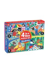 Mudpuppy 4 In A Box Puzzles