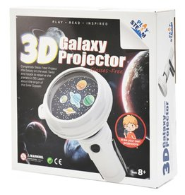 3D Galaxy Projector 8+