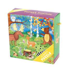 Mudpuppy Mudpuppy Jumbo Puzzle Forest Friends 2+
