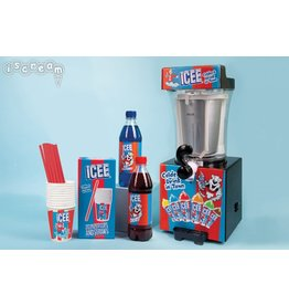 iscream ICEE Slushie Making Machine Combo Pack - 10+
