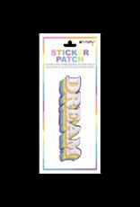 iscream Dream Embroidered Sticker Patch