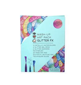 Bright Stripes iHeartArt Mash-Up Art Pack Glitter Fx 8+