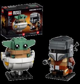 LEGO Star Wars BRICK HEADS - The Mandalorian & the Child