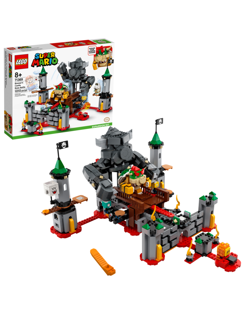 LEGO LEGO Bowser's Castle Boss Battle Expansion 8+