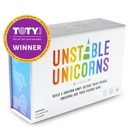 Tee Turtle Unstable Unicorns: Base Game 14+