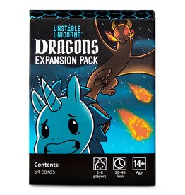 Tee Turtle Unstable Unicorns: Dragons Expansion 14+
