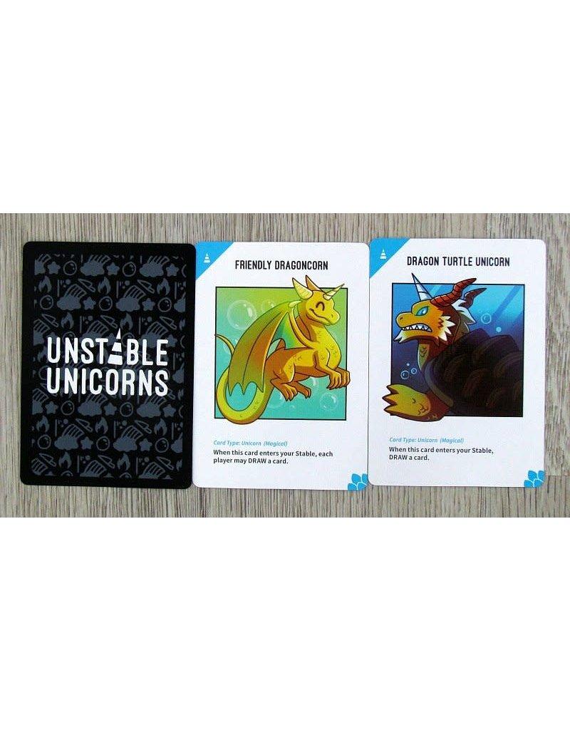 Tee Turtle Unstable Unicorns: Dragons Expansion 14+