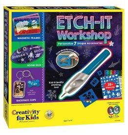 Creativity for Kids Etch It Workshop 7+