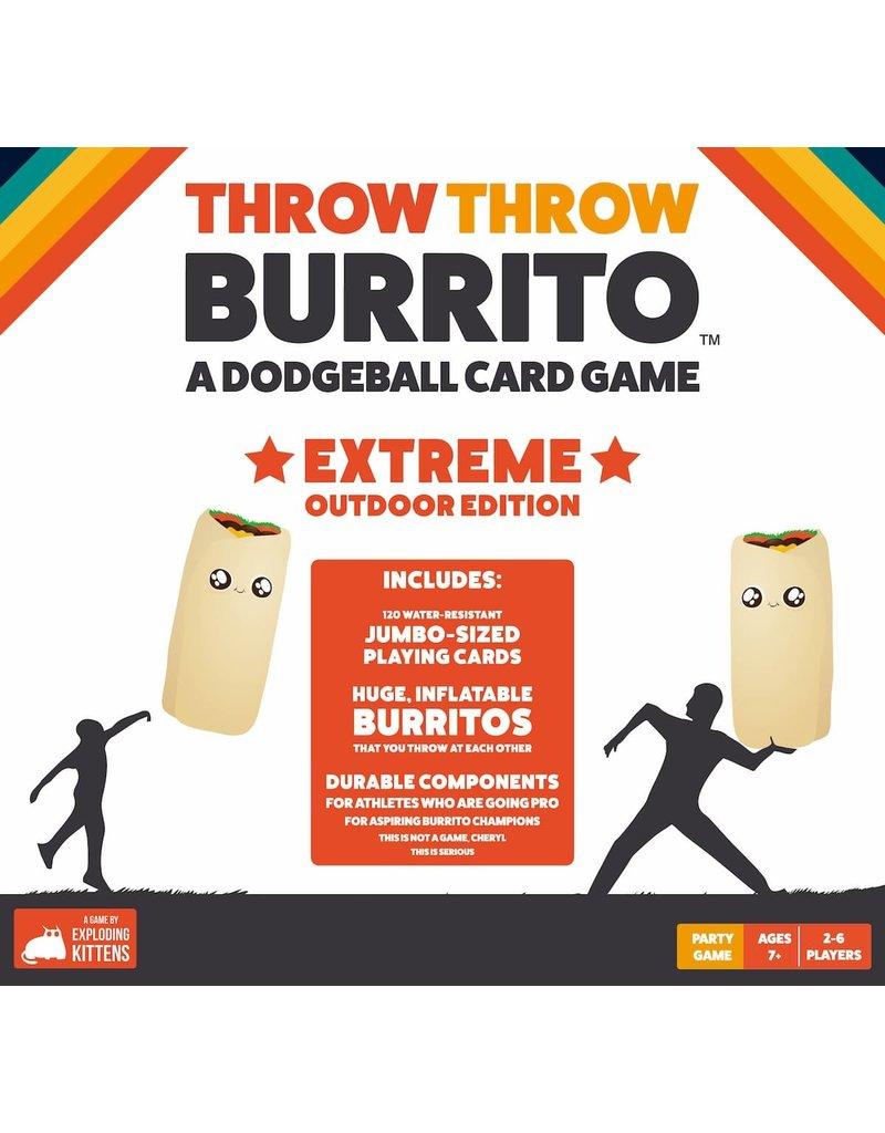 Exploding Kittens Throw Thow Burrito 7+