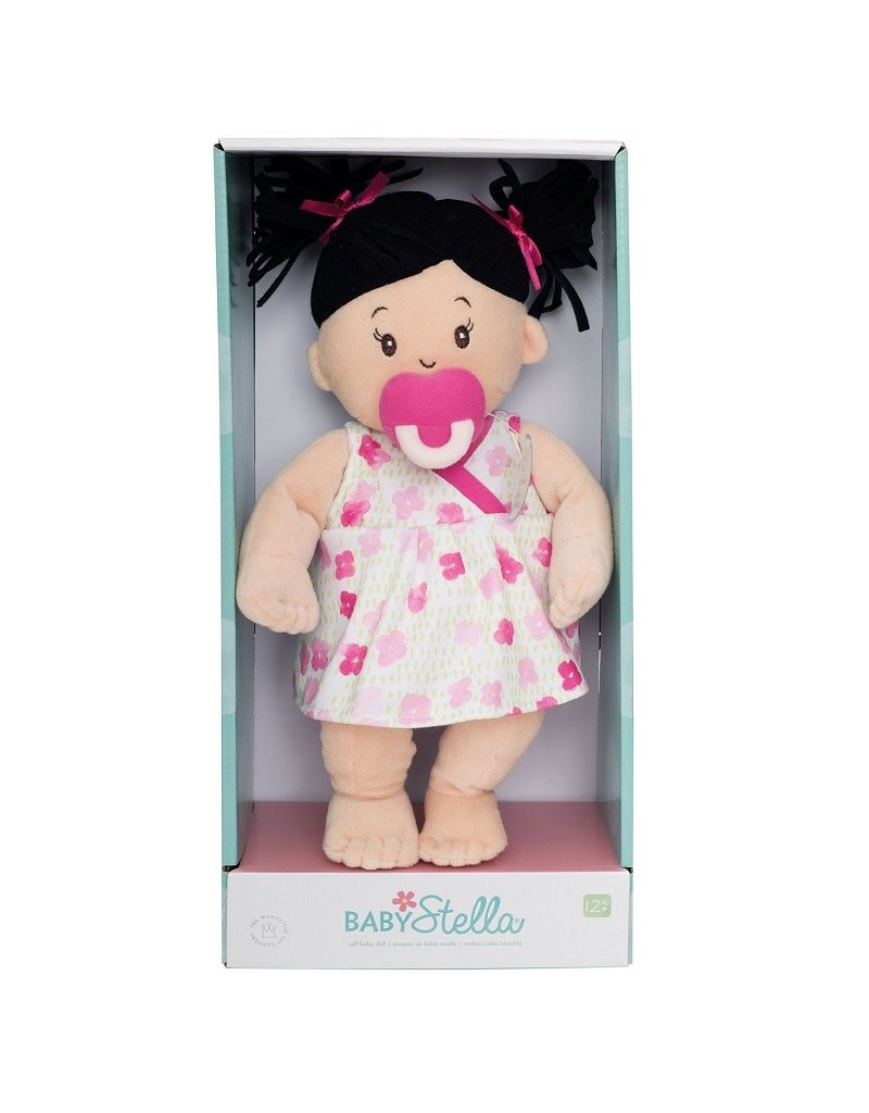 Baby Stella Soft Doll Brunette 1+